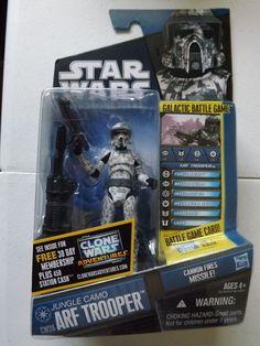 Hasbro Star Wars Clone Wars CW24 Arf Trooper NEW in TV, Movie & Video Games   eBay