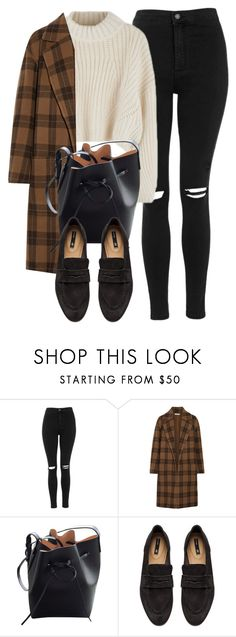 """Untitled #6949"" by laurenmboot ❤ liked on Polyvore featuring Topshop, Vince, Mansur Gavriel and H&M"
