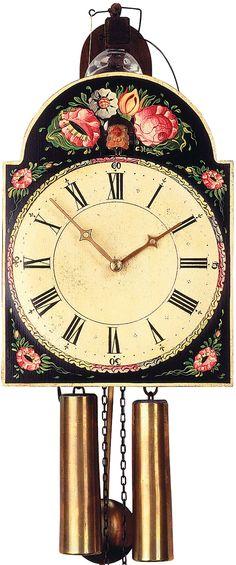 Reloj de cuco con fachada pintada movimiento mecánico de 8 días 33cm de Rombach & Haas