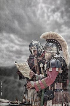 Late roman legionaries