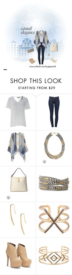 """""""Casual Elegance"""" by lucypignatelli on Polyvore featuring Frame Denim, Dorothy Perkins, Stella & Dot, women's clothing, women's fashion, women, female, woman, misses and juniors"""