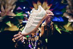 new styles fb56d 57f32 Sneaker Politics x adidas Consortium Gazelle Primeknit Mardi Gras - EU  Kicks Sneaker