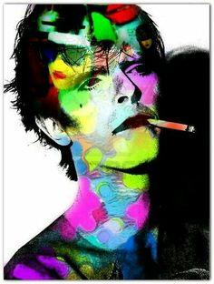 David bowie art .