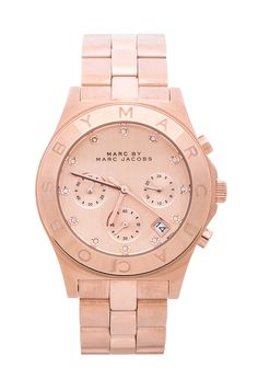 Marc by Marc Jacobs Blade Chrono Watch in Rose Gold