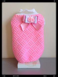 Versión en rosa y blanco... Precioso!!!
