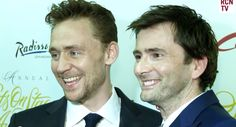 The two most brilliant and talented actors ever! Tom Hiddleston and David Tennant