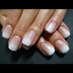 Ombre French manicure - a french mani I actually like!