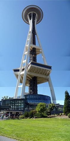 Space needle. Seattle, Washington.