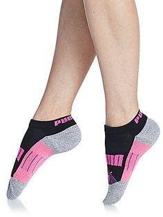 PUMA Athletic Low-Cut Anklet Socks/3-Pack - Black - Size 9-11