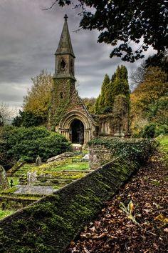 Overton Church, Wales, UK - long abandoned