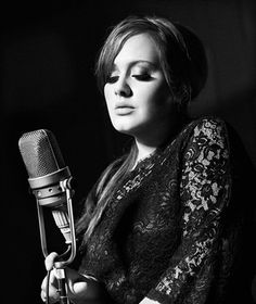Adele on the cover of Elle Us
