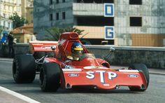 Ronnie Peterson (SWE) (STP March Racing Team), March 721X - Ford-Cosworth DFV 3.0 V8 (finished 11th)  1972 Monaco Grand Prix, Circuti de Monaco