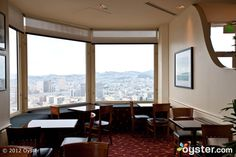 Located at the top floor of the Intercontinental Mark Hopkins Hotel, The Top of the Mark is a great place for a quiet meeting with a great view. Photo Courtesy of http://www.oyster.com/san-francisco/hotels/intercontinental-mark-hopkins-san-francisco/photos/restaurants-and-bars/ #SalesCrunch