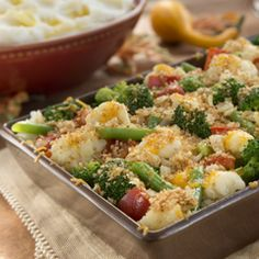 Thanksgiving Family Fave Veggie Casserole