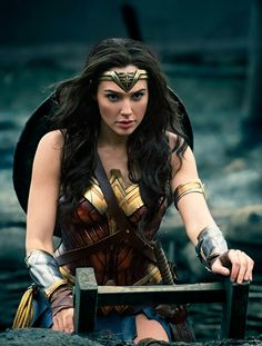Who needs to fight when you can glare like Gal Gadot?! Throw in the Lasso of Truth as well, because, that would work too.