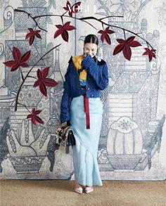 """koreanmodel: """" Han Hye Jin, Kim Won Kyung by Hong Jang Hyun for Vogue Korea Oct 2016 """""""
