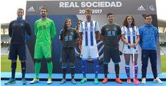 camisetas de futbol online 2018: Camiseta Real Sociedad 2018