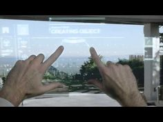 MetaPro: 15 times the screen of Google Glass - YouTube