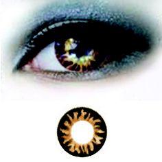 Magic Eye 3-tone -Brown Special -Värilliset Piilolinssit -1 vuosi -PARI!! - 23,90€