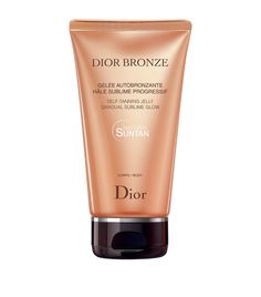 Dior Bronze Self-Tanning Jelly Gradual Glow-Body available to buy at Harrods. Shop luxury skincare online & earn reward points.