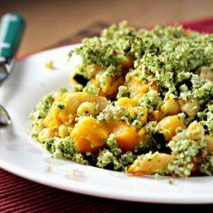 Basil & Broccoli Mac & Cheese