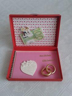 Geldgeschenke - Geldgeschenk Hochzeit Hochzeitsgeschenk Geschenk - ein Designerstück von Simacy bei DaWanda