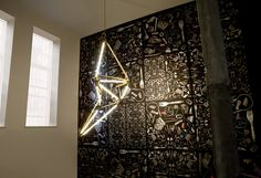 Stefan Hengst's NY Trash wallpaper installed in the BOFFO show house this spring.