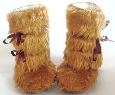 As seen on The Ultimate Baby Shower Gift by CoolMomPicks Beige Fur Baby Boots by funkyshapes, $32.95