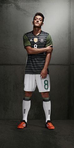 Özil with new away uniform for die Mannschaft