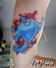 Genie Lamp Tattoo Disney