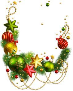 Прозрачный Новогоднее украшение PNG Clipart