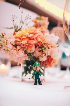 Video Game Themed Wedding at Foreign Cinema, San Francisco: Stephanie & Jim