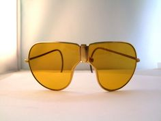 RARE 1920s 40s  Folding Driving Sunglasses Mint   by ifoundgallery, $225.00
