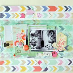 Scrapbooking and photography - Amélie MORDRET: {DT Citrus Twist Kits - Petites astuces! Scrapbook Paper Crafts, Scrapbook Pages, Paper Crafting, Layout Inspiration, Creative Inspiration, Studio Calico, American Crafts, Scrapbooking Layouts, Arts And Crafts