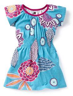 Tea Collection Shumita Smock Waist Dress from Button Tree Kids (ButtonTreeKids.com) #tea #teacollection #india #buttontreekids #baby #babyclothes #dress
