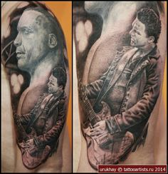 Till Lindemann # Richard Kruspe # tattoo