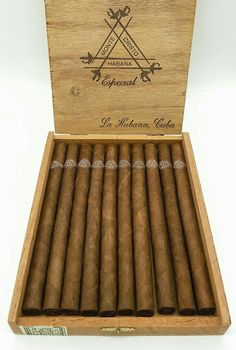 (Vintage Montecristo - Especial - Another! Cigars And Whiskey, Good Cigars, Pipes And Cigars, Havana Cigars, Cuban Cigars, Cigar Humidor, Cigar Bar, Cigar Shops, Cigar Accessories
