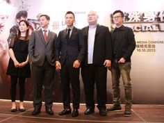 """""""Special ID"""" Press Conference and sharing session. (L-R) Ms. May Pun (Director of RAM Entertainment), Mr. Kevin Lam (Managing Director Country Head of UOB Malaysia), Donnie Yen, Mr. Lew Wen Feng (Advertising & Promotions Manager of Paradigm Mall) and Mr. Roland Lee (Content Network Manager for MYFM)."""