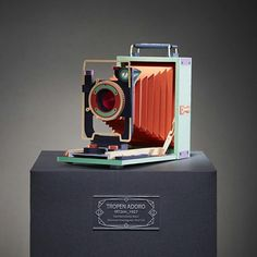 Vintage Film Cameras Meticulously Built From Colored Paper by Lee Ji-Hee | Colossal