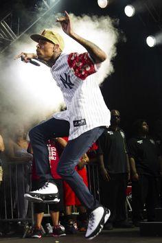 Chris Brown en #AirJordan IX