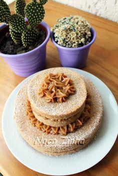 Naked cake de churros » NacoZinha - Blog de culinária, gastronomia e flores - Gina