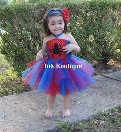 Spiderman Tutu Dress.. lizzys halloween costume DIY? :)