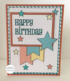 ~ Marilyn's Cricut Cards ~: Happy Birthday