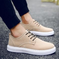 Spring Massage Breathable Sweat Men 2018 LAISUMK Brand Men Casual Shoes Leather Men Shoes Lace-up Breathable Soft Autumn Casual Flats Formal Sneakers. Sneakers Shoes, Mens Shoes Boots, Men's Shoes, Shoe Boots, Prom Shoes, Louboutin Shoes, Platform Shoes, Shoes Women, Nike Shoes