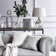 Add some grown-up glamour to your living room.