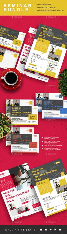buy seminar event flyer bundle by yesangga on graphicriver seminar event flyer bundle the perfect way to make the best impression