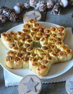 25 ideas on how to make delicious appetizers and hors d& .- 25 ideas on how to make delicious aperitifs and Christmas appetizers Mini Appetizers, Christmas Appetizers, Delicious Appetizers, Appetizer Ideas, Christmas Brunch, Christmas Breakfast, Christmas Sweets, Noel Christmas, Cookie Recipes
