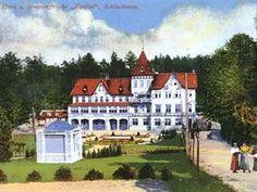 Lázně Karlovo údolí u Šluknova Czech Republic, Mansions, House Styles, Travelling, Home Decor, Ruins, Decoration Home, Manor Houses, Room Decor