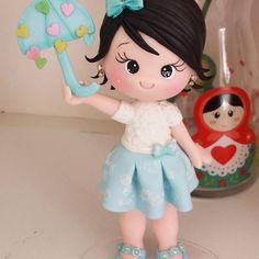 Muñeca con Paragua