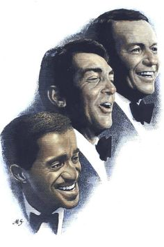 Dean Martin - family picture of the three best friends in the world - and everybody knows their names - web source -MReno